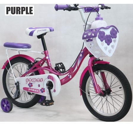 Girl Bicycle Kid Bike Children Bike Backseat 4-8Yrs Old 16 | PrestoMall -  Bikes